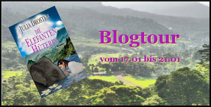 Banner Blogtour Die Elefantenhüterin