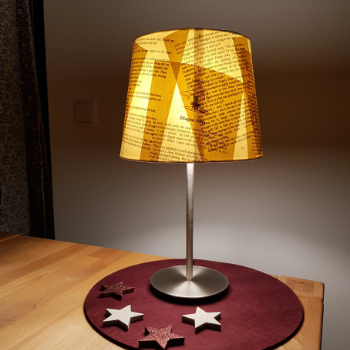 Bloggeburtstag Lampe 3