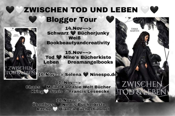 Blogtour - Zwischen Tod & Leben