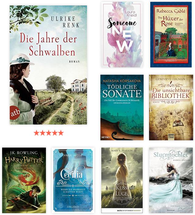 Lesejahr 2019 - gelesene Bücher 2