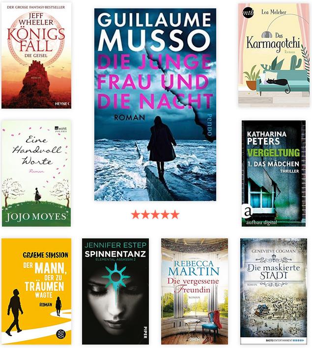 Lesejahr 2019 - gelesene Bücher 3