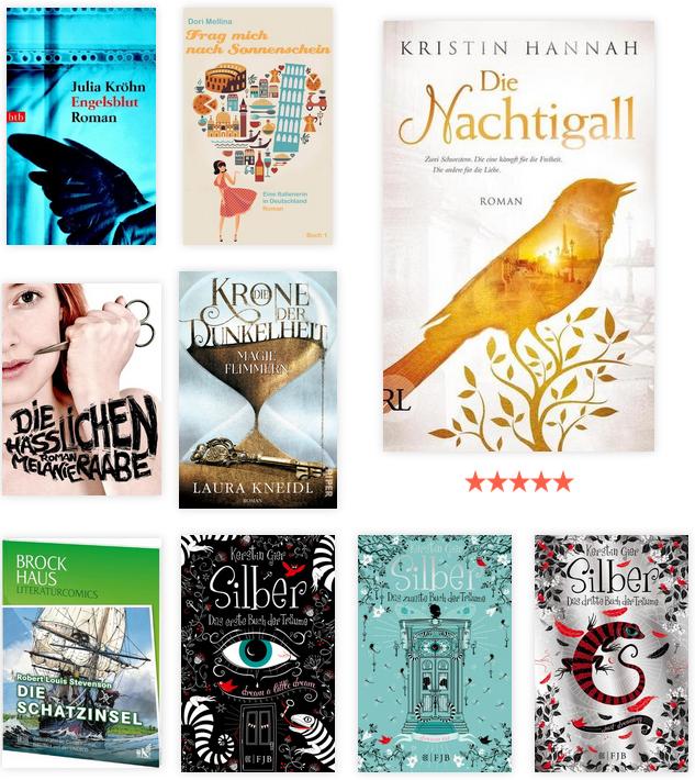 Lesejahr 2019 - gelesene Bücher 4