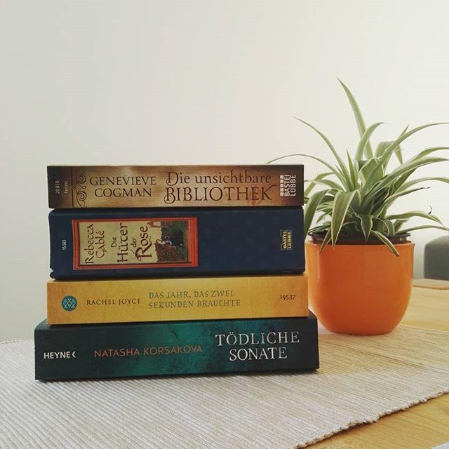 Lesemonat April - gelesene Bücher